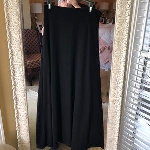 Gap Black Maxi Skirt